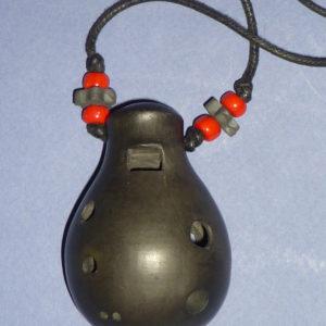 Ocarina simple collier