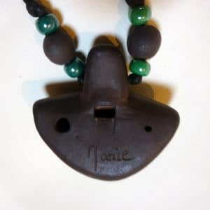 Ocarina collier 4 notes